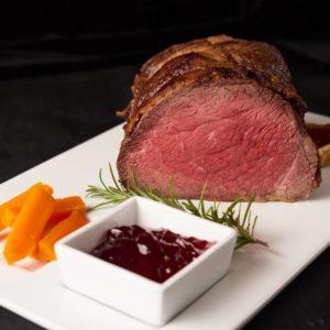 Roast sirloin beef