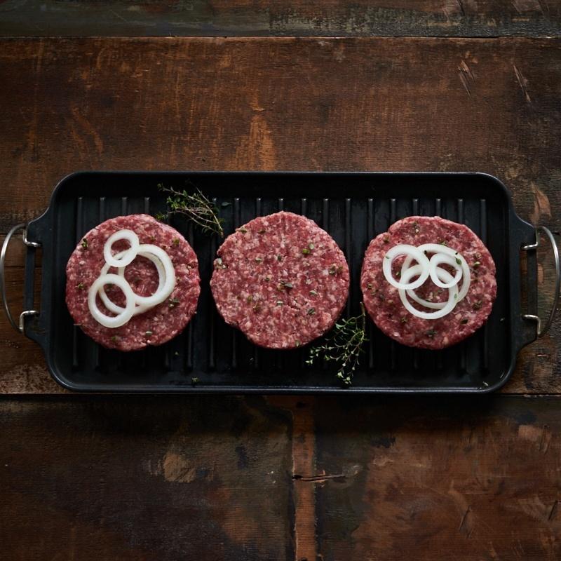 Salt And Pepper Premium Burgers 6oz 170g 6 Per Pack Scott Brothers Butchers