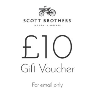 Scott Brothers Butchers £10 gift voucher