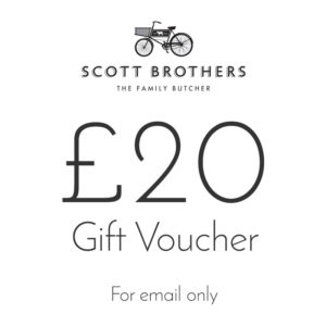 Scott Brothers Butchers £20 gift voucher