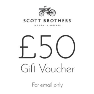 Scott Brothers Butchers £50 gift voucher