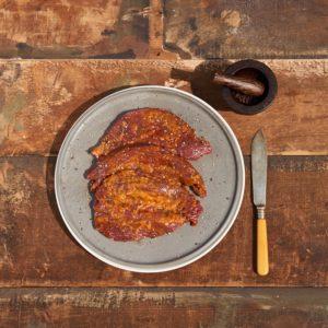 Peppered Steaks