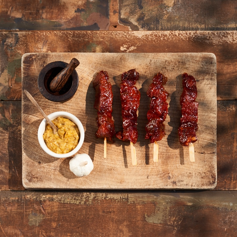 Spicy Beef Kebabs